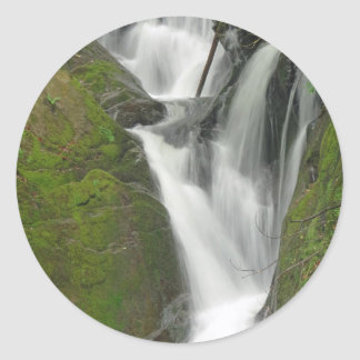 Dyfi Furnace Waterfall Classic Round Sticker