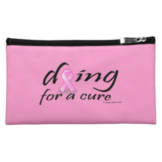Dying for a Cure Makeup Bag