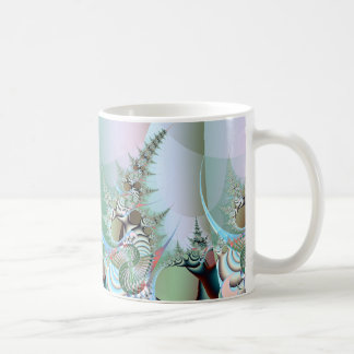 dying forest detail: trees with gasmasks mug