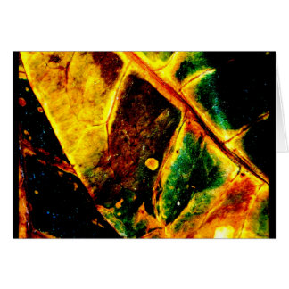 """Dying Leaf"" JTG Art Greeting Card"