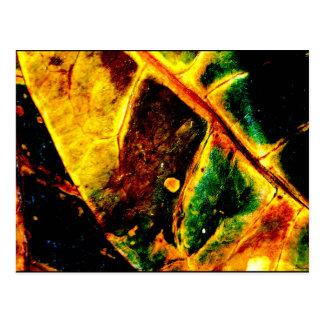 """""""Dying Leaf"""" JTG Art Postcard"""