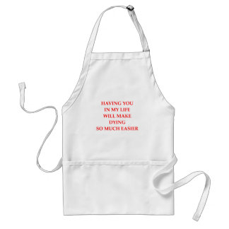 DYING STANDARD APRON