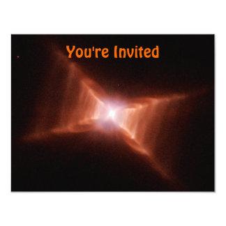 Dying Star 11 Cm X 14 Cm Invitation Card