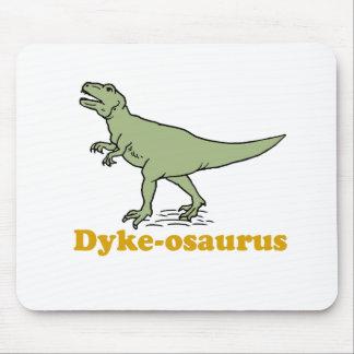 Dyke-osaurus Mouse Pads