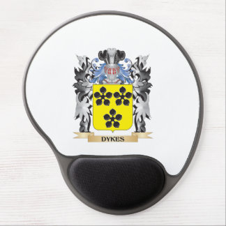 Dykes Coat of Arms - Family Crest Gel Mouse Pad