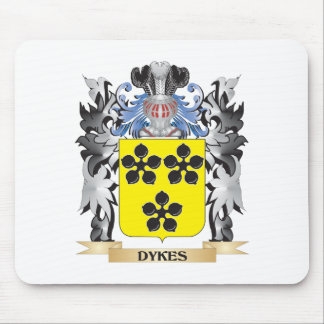 Dykes Coat of Arms - Family Crest Mouse Pad