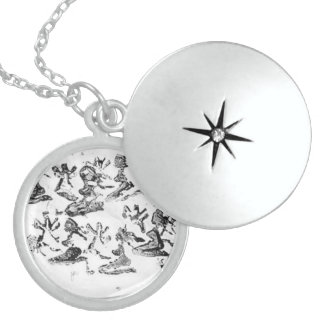 Dyke's Court Sterling Silver Locket