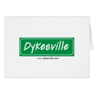 Dykesville Logo Card
