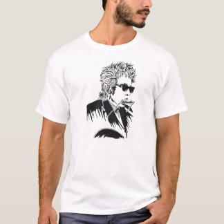 Dylan Classic Rock Harmonica and Guitar T-Shirt