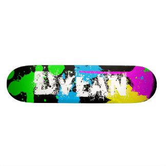 Dylan Paint Splatter Skateboard