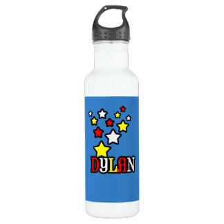 Dylan Shooting Stars Personalized 710 Ml Water Bottle