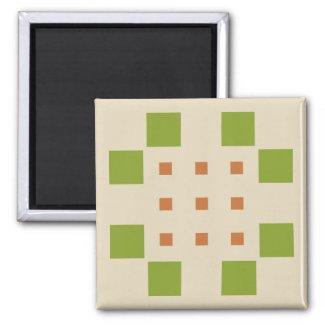 Dylo / 5.1 Cm Square Magnet