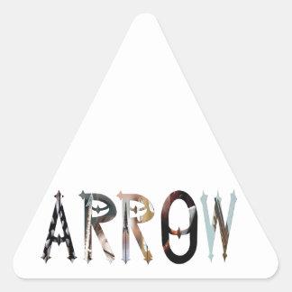 Dymond Speers ARROW TRIANGLE STICKERS Triangle Sticker