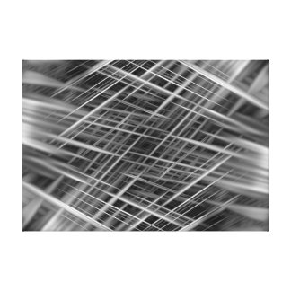 Dynamic abstract lines canvas print