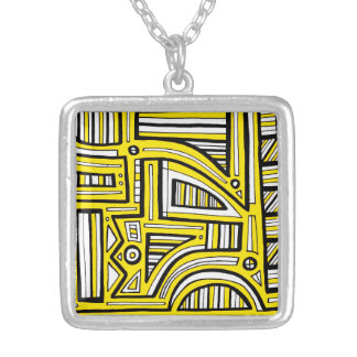 Dynamic Achievement Charming Effortless Square Pendant Necklace