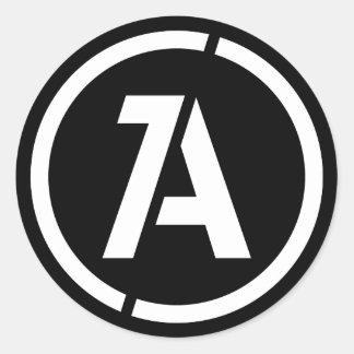 Dynamic Anarchy Symbol Sticker