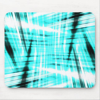 Dynamic blue streaked background mouse mat