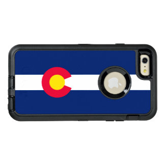 Dynamic Colorado State Flag Graphic on a OtterBox iPhone 6/6s Plus Case