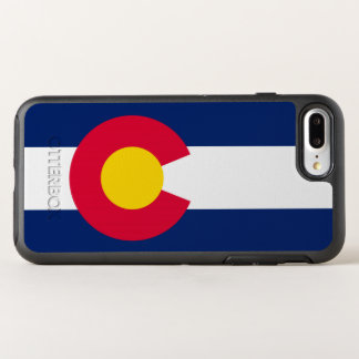 Dynamic Colorado State Flag Graphic on a OtterBox Symmetry iPhone 8 Plus/7 Plus Case