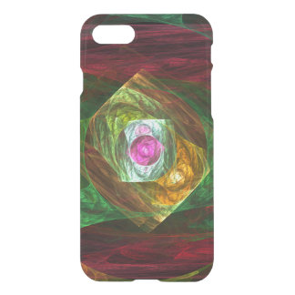 Dynamic Connections Abstract Art Deflector iPhone 8/7 Case
