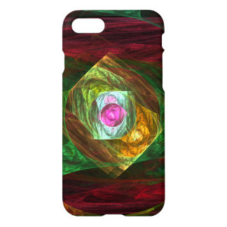 Dynamic Connections Abstract Art Glossy iPhone 8/7 Case