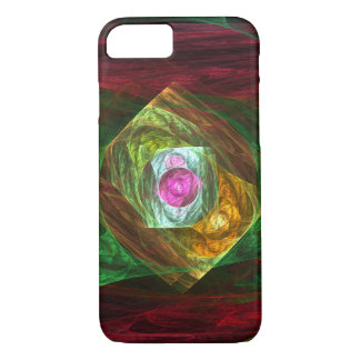 Dynamic Connections Abstract Art iPhone 8/7 Case