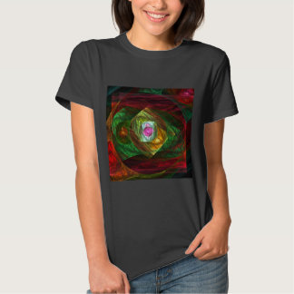 Dynamic Connections Abstract Art T Shirts