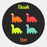 Dynamic Dinos Thank You Sticker