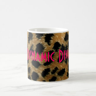 Dynamic Diva leopard mug
