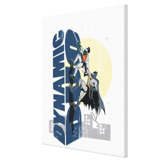 Dynamic Duo Graphic Canvas Print
