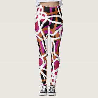 Dynamic fitness leggings