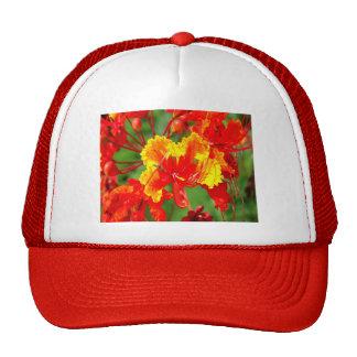 Dynamic Floral Print Hat