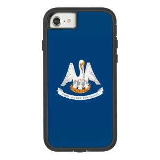 Dynamic Louisiana State Flag Graphic on a Case-Mate Tough Extreme iPhone 8/7 Case