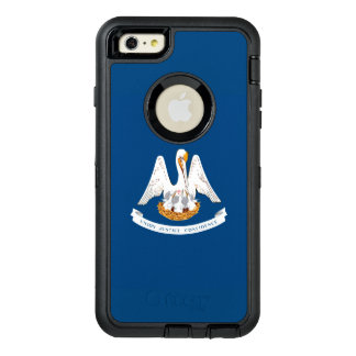 Dynamic Louisiana State Flag Graphic on a OtterBox Defender iPhone Case