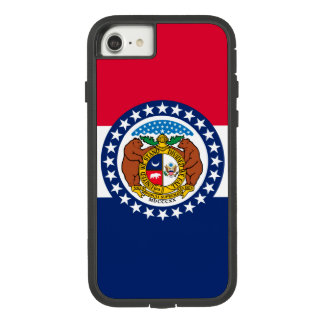 Dynamic Missouri State Flag Graphic on a Case-Mate Tough Extreme iPhone 8/7 Case