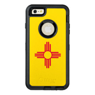 Dynamic New Mexico State Flag Graphic on a OtterBox Defender iPhone Case