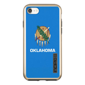 Dynamic Oklahoma State Flag Graphic on a Incipio DualPro Shine iPhone 8/7 Case