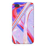 Dynamic Satin Abstract Cover For iPhone 4