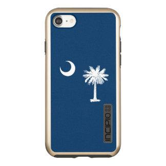 Dynamic South Carolina State Flag Graphic on a Incipio DualPro Shine iPhone 8/7 Case
