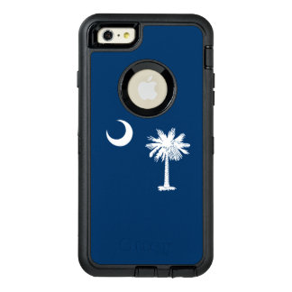 Dynamic South Carolina State Flag Graphic on a OtterBox Defender iPhone Case
