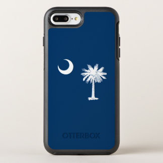 Dynamic South Carolina State Flag Graphic on a OtterBox Symmetry iPhone 8 Plus/7 Plus Case
