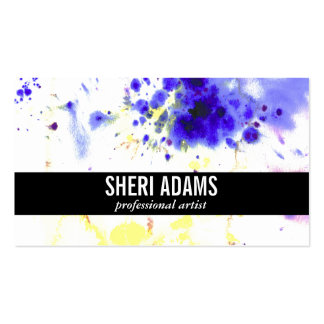 Dynamic | Spatter II Pack Of Standard Business Cards
