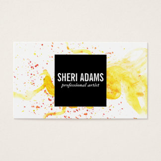 Dynamic   Spatter III Business Card