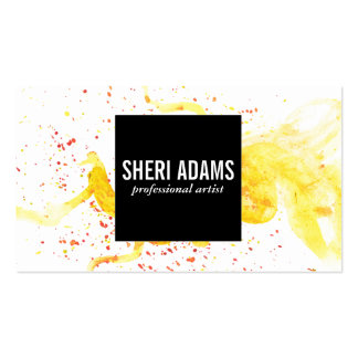 Dynamic | Spatter III Pack Of Standard Business Cards