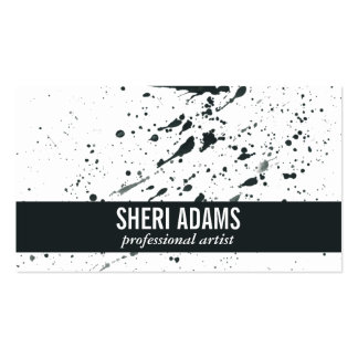 Dynamic | Spatter Pack Of Standard Business Cards