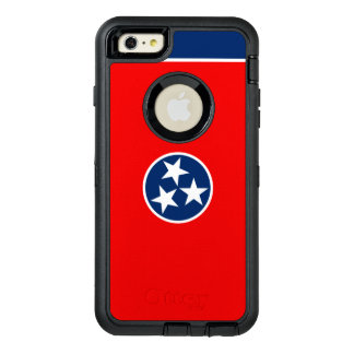 Dynamic Tennessee State Flag Graphic on a OtterBox Defender iPhone Case