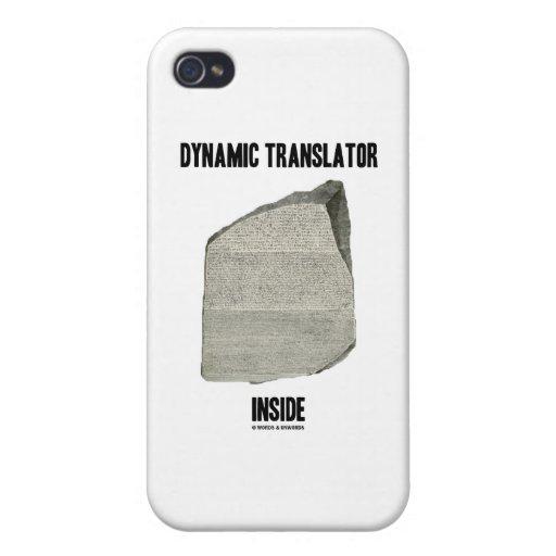 Dynamic Translator Inside (Rosetta Stone) iPhone 4/4S Covers