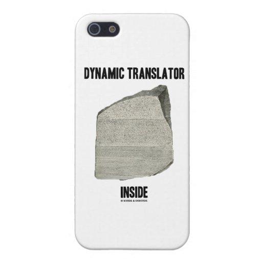 Dynamic Translator Inside (Rosetta Stone) iPhone 5 Case