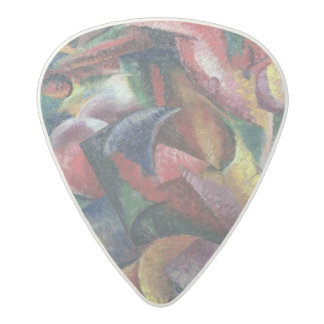 Dynamism of the Body, 1913 (oil on canvas) Acetal Guitar Pick