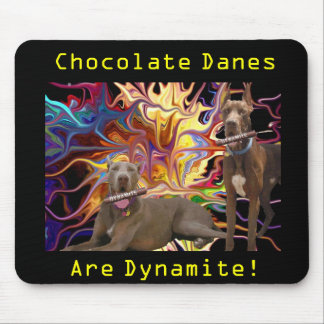 Dynamite Chocolate Dane Brothers Mouse Mat